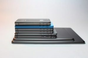 Stack of Phones and Tablets