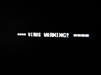 Code for malware removal on a laptop